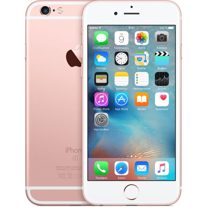 iPhone 6 16GB Rose Gold без Touch ID